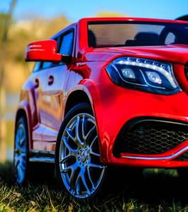 Masinuta electrica Mercedes GLS63 AMG 2x4 12V STANDARD #Rosu10