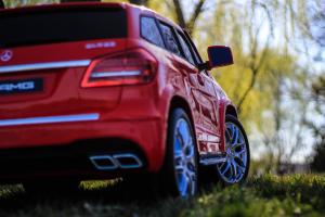 Masinuta electrica Mercedes GLS63 AMG 4x4 24V STANDARD #Rosu9