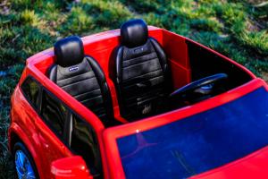 Masinuta electrica Mercedes GLS63 AMG 2x4 12V STANDARD #Rosu4