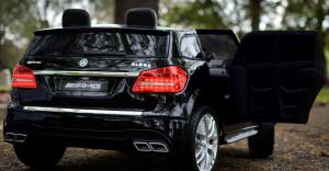 Masinuta electrica Mercedes GLS63 AMG 4x4 24V STANDARD #Negru7