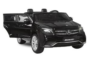 Masinuta electrica Mercedes GLS63 AMG 4x4 24V STANDARD #Negru0