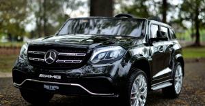 Masinuta electrica Mercedes GLS63 AMG 4x4 24V STANDARD #Negru1