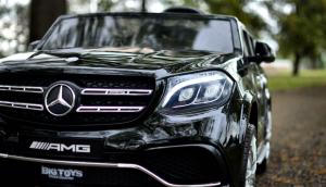 Masinuta electrica Mercedes GLS63 AMG 4x4 24V STANDARD #Negru2