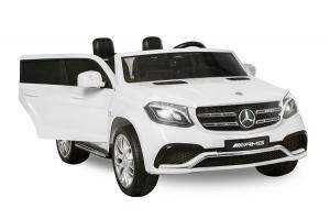 Masinuta electrica Mercedes GLS63 AMG 4x4 24V STANDARD #Alb0