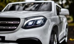 Masinuta electrica Mercedes GLS63 AMG 4x4 PREMIUM 24V #Alb4
