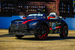 Masinuta electrica Mercedes GT-R 2x25W STANDARD #Negru2