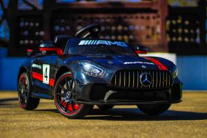 Masinuta electrica Mercedes GT-R 2x25W STANDARD #Negru1