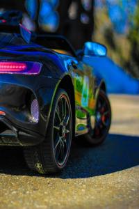 Masinuta electrica Mercedes GT-R 2x25W STANDARD #Negru8