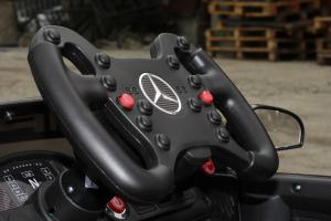 Masinuta electrica Mercedes GT-R 2x25W STANDARD #Negru11