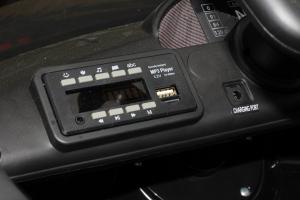 Masinuta electrica Mercedes GT-R 2x25W STANDARD #Negru10