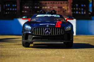 Masinuta electrica Mercedes GT-R 2x25W STANDARD #Negru7