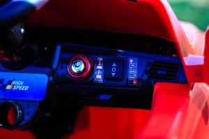 Masinuta electrica Mercedes ML350 STANDARD 1x25W #Rosu8