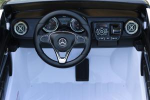 Masinuta electrica Mercedes POLICE X-Class 4x4 STANDARD #Alb10