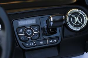 Masinuta electrica Mercedes POLICE X-Class 4x4 STANDARD #Alb9