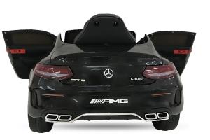 Masinuta electrica Mercedes C63 12V STANDARD #Negru1