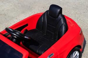 Masinuta electrica Mercedes S63 12V PREMIUM #ROSU7