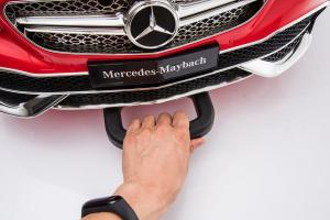 Masinuta electrica Mercedes S650 MAYBACH PREMIUM #Alb6