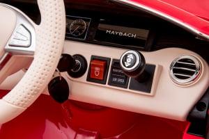 Masinuta electrica Mercedes S650 MAYBACH PREMIUM #Alb3