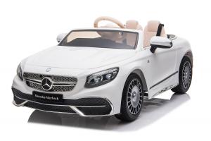 Masinuta electrica Mercedes S650 MAYBACH PREMIUM #Alb0