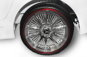 Masinuta electrica Mercedes SLS STANDARD 2x 25W 12V #Alb7