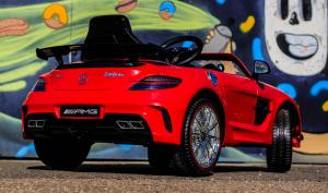 Masinuta electrica Mercedes SLS STANDARD 2x 25W 12V # Rosu5