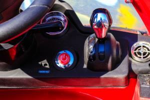Masinuta electrica Mercedes SLS STANDARD 2x 25W 12V # Rosu10