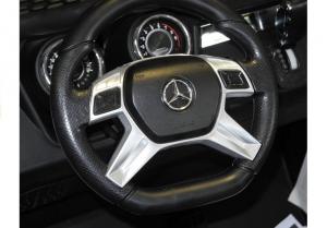 Masinuta electrica Mercedes UNIMOG 4x4 PREMIUM #Alb9