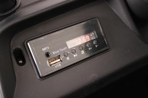 Masinuta electrica Mercedes UNIMOG 4x4 PREMIUM #Negru7