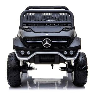 Masinuta electrica Mercedes UNIMOG 4x4 PREMIUM #Negru0