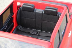 Masinuta electrica Mercedes X-Class 2x45W STANDARD #Rosu [8]