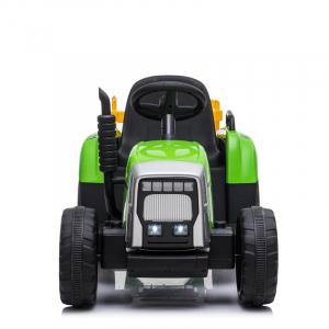 Tractoras electric BJ-611 cu remorca si telecomanda STANDARD #Verde5