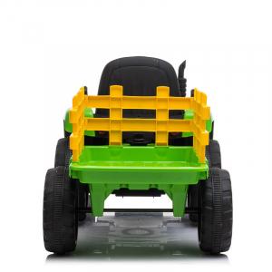 Tractoras electric BJ-611 60W cu remorca STANDARD #Verde3
