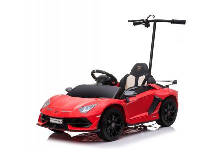 Masinuta electrica Lamborghini SVJ cu hoverboard, rosu [20]