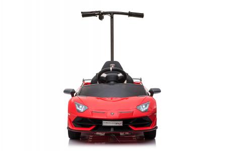 Masinuta electrica Lamborghini SVJ cu hoverboard, rosu [17]