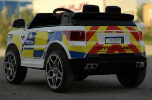Masinuta electrica POLICE JC002 90W 12V PREMIUM #Alb [9]