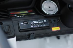 Masinuta electrica POLICE JC002 90W 12V PREMIUM #Alb [8]