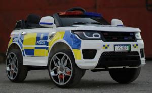 Masinuta electrica POLICE JC002 90W 12V PREMIUM #Alb [3]