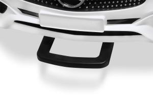 Masinuta electrica de politie Mercedes SL500 90W STANDARD #Alb2