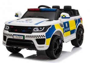 Masinuta electrica POLICE JC002 90W 12V PREMIUM #Alb [0]