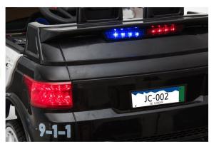 Masinuta electrica POLICE JC002 90W 12V PREMIUM #Negru8