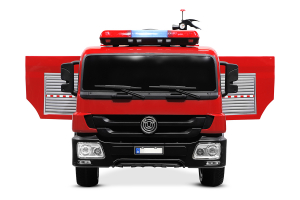 Masinuta electrica Pompieri Fire Truck Hollicy 90W 12V PREMIUM #Rosu [2]