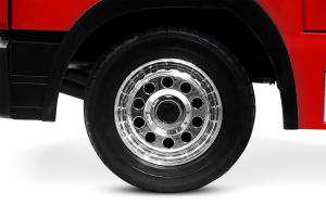 Masinuta electrica Pompieri Fire Truck Hollicy 90W 12V PREMIUM #Rosu [8]