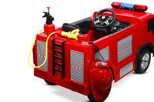 Masinuta electrica Pompieri Fire Truck Hollicy 90W 12V PREMIUM #Rosu [3]