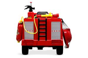 Masinuta electrica Pompieri Fire Truck Hollicy 90W 12V PREMIUM #Rosu [1]