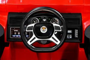 Masinuta electrica Pompieri Fire Truck Hollicy 90W 12V PREMIUM #Rosu [12]