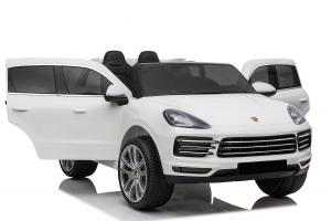 Masinuta electrica Porsche Cayenne XXL PREMIUM #Alb0