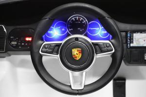 Masinuta electrica Porsche Cayenne XXL PREMIUM #Alb8