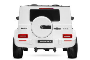 Masinuta electrica Mercedes G63 XXL 4x4 PREMIUM  #Alb5
