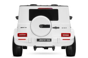 Masinuta electrica Mercedes G63 XXL 2x4 PREMIUM  #Alb3