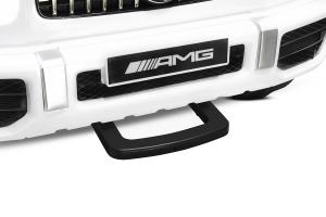 Masinuta electrica Mercedes G63 XXL 4x4 PREMIUM  #Alb9